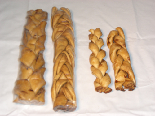 All Natural Chicken Basted Rawhide braids